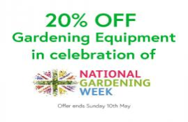 Get involved with National Gardening Week 2020