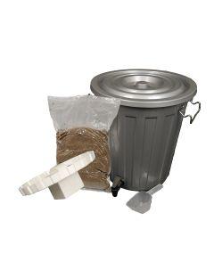 18L Single Bokashi Composter Kit with 2Kg of Bokashi Bran