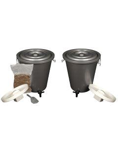 27L Double Bokashi Composter Kits