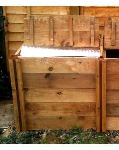 400 Blackdown Range Single Deluxe Standard Wooden Composter