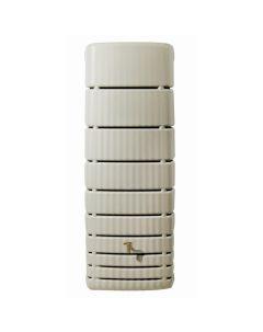 650L Slim Rainwater Wall Tank - Sand Beige
