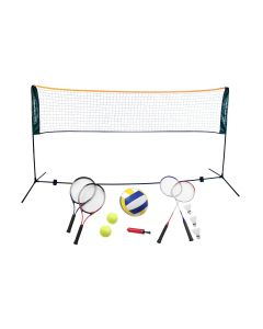 Badminton Volleyball and Tennis Set with a 5m Net