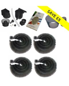 4 Brush Ultimate Blockage Protection Package