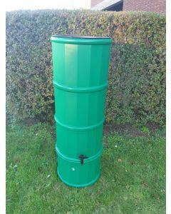 110L Slimline Polybutt Water Butt - Light Green