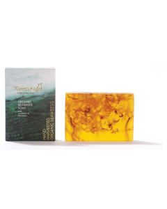 115g Green Angel Organic Seaweed Soap with Lavender & Mandarin