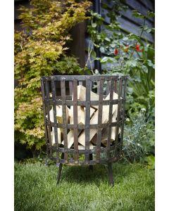 Gothic Log Basket 45cm