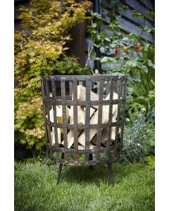 Gothic Log Basket 55cm