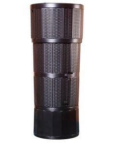 150L Rattan Wicker Effect Butt - Oak Brown