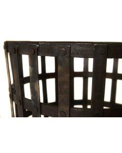 Gothic Log Basket 47cm