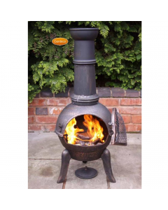 Granada Large Cast Iron Chimenea