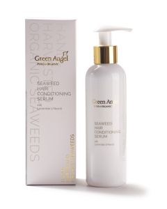 200ml Green Angel Organic Seaweed Hair Conditioning Serum with Lavender & Neroli