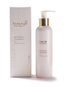 200ml Green Angel Organic Seaweed Shampoo with Lavender & Neroli