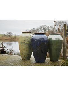 Haikou 106cm Water Jar In Green