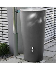 210L RainBowl Vase Water Butt - Slate Grey