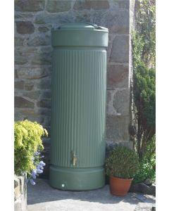 500L Georgian Pillar Water Tank Column - Green
