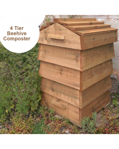 Blackdown Beehive Wooden Composter - 4 Tier - Pre Built