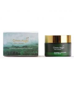 50ml Green Angel Organic Seaweed & Collagen Face Cream
