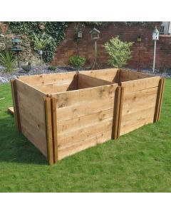 600 Blackdown Range Single Standard Wooden Composter Extra Module