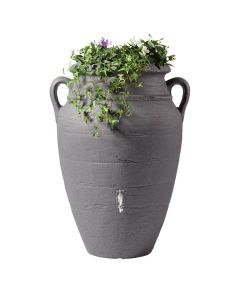 600L Antique Amphora Water Butt - Granite