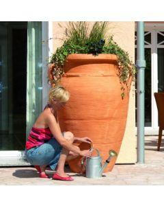 600L Antique Amphora Water Butt - Terracotta