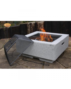 MGO Cubo Square Garden Fire Pit