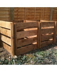 800 Blackdown Range Double Slotted Wooden Composter