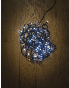 120LED Multifunction White String Light With Green Cable