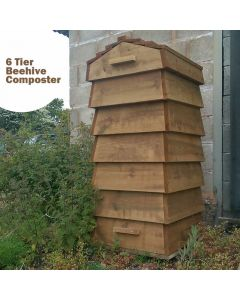 Blackdown Beehive Wooden Composter - 6 Tier - Pre Built