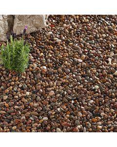 Kelkay Caledonian Pebbles Premium Decorative Aggregate, Bulk Bag