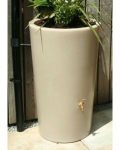 180L Garden Planter Water Butt Antique Stone
