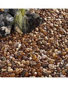 Kelkay Coastal Pebbles Decorative Aggregate, Bulk Bag