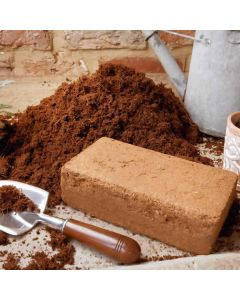 Coir Block for Wormery Bedding - 650 grams