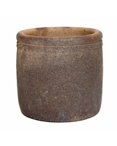Old Ironstone Cylinder Planter 70cm