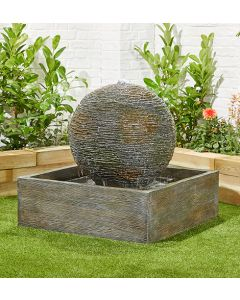 Kelkay Dark Planet Water Feature With LEDs