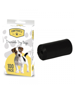 Pack of 100 Disposable Dog Bags
