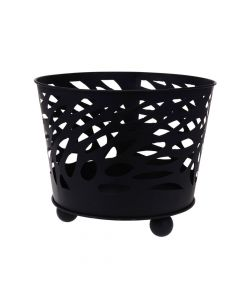 Black Fire Basket - 40cm
