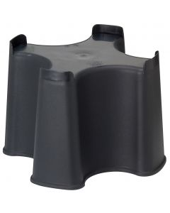 Black Slim Line Water Butt Stand