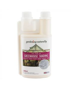 Gardening Naturally Greenhouse White Liquid Shading 500ml