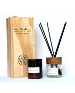 Vanilla Blanc Apothicaire Collection 120ml Candle & 100ml Diffuser Gift Set - Grosso Lavender & Wild Vetivert