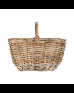 Hand Woven Rattan Market Basket