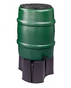 114L Standard Water Butt Barrel With Stand and Diverter