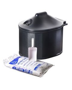 Home Grit Bin with 10kg Salt