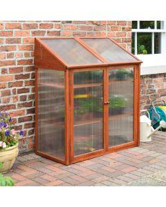 Rowlinson Hardwood Mini Greenhouse