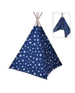 TIPI Teepee Tent Blue White Star