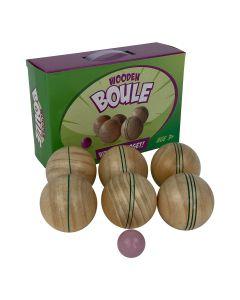Wooden Boule