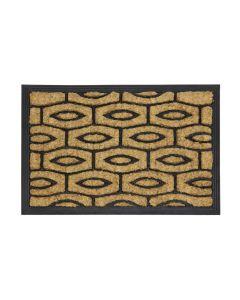 Pattern Rubber Tuffscrape Doormat 40 x 60cm