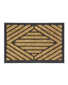 Diamond Rubber Tuffscrape Doormat 40 x 60cm