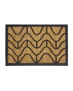 Waves Rubber Tuffscrape Doormat 40 x 60cm