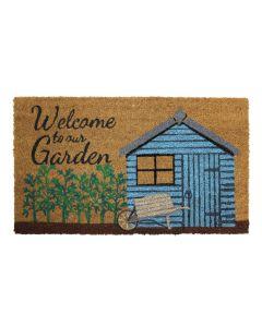 Garden Shed Latex Coir Doormat 40 x 70cm