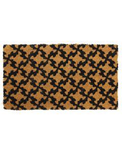 Pattern Latex Coir Doormat 40 x 70cm